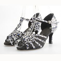 Customized Women's Leatherette Dance Shoes For Latin/Ballroom Sandals - USD $ 44.99