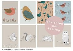 Lovely cards | Petite Louise via Kinderkamerstylist