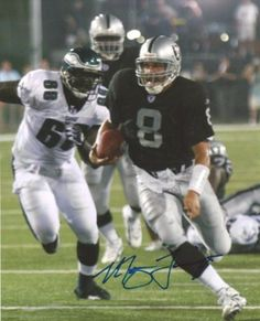 This is an 8x10 photo that has been hand signed by Marques Tuiasosopo. It comes with the tamper-proof Mill Creek Sports hologram and matching certificate for authentication.