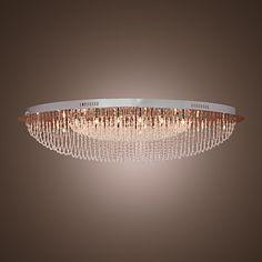 Lustre+de+Tecto+Moderno+em+Cristal+com+24+Luzes+–+BRL+R$+1.074,38