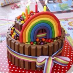 Rainbow Collage Cake 310x310jpg cakepins.com