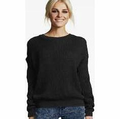 boohoo Katherine Oversized Jumper - black azz53442 A cool boyfriend cardigan or sweet jumper is the perfect way to cover up when it gets a little chilly. Striped knitwear is gorgeous for creating this season's preppy styling, and keep an eye out for q http://www.comparestoreprices.co.uk/womens-clothes/boohoo-katherine-oversized-jumper--black-azz53442.asp