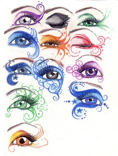 Eyes by ButterflyInDisguise.deviantart.com on @deviantART