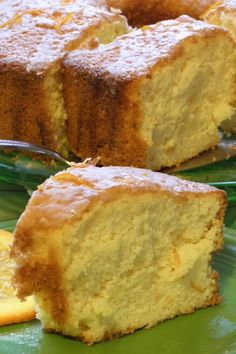 Orange Fluff Cake THis was the closest recipe to the one I had lost from my mother in law in Israel. Just Desserts, Delicious Desserts, Dessert Recipes, Yummy Food, Lemon Desserts, Dessert Food, Summer Desserts, Food Cakes, Cupcake Cakes
