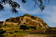 la quemada or chicomostoc - ruins very close to the city of zacatecas