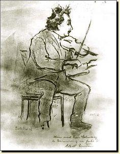 Einstein. Litografía de Emil Orlik, 1928.  Foto: © Los Archivos de Albert Einstein, la Biblioteca Nacional y Universitaria Judía,  de la Universidad Hebrea de Jerusalén, Israel.
