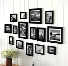Wall Frame Set, Frame Wall Collage, Gallery Wall Frames, Hanging Picture Frames, Picture Frame Sets, Collage Picture Frames, Photo Picture Frames, Photo Wall Collage, Hanging Pictures