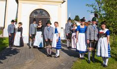 """Trachtenverein """"D'Mangfalltaler"""" Westerham in Miesbacher Tracht"""