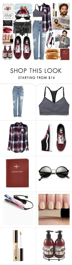 """Road Trip"" by lemptiness ❤ liked on Polyvore featuring River Island, Victoria's Secret, Rails, Chanel, FOSSIL, Eva NYC, Estée Lauder and Upper Canada Soap"