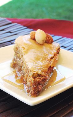 baklava is my favorite! i need to try this recipe out