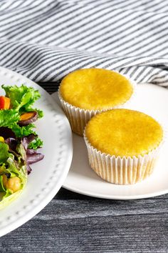 Protein packed lunch hack: Instead of having bread with your salad, have a protein cupcake or two. Our protein cake mix isn't overly sweet, and would be the perfect complement to any savory dish. A great way to fill up with added protein and fiber. Skip the extra carbs! Click through to learn more, and check our Facebook and Instagram for current discount codes! #proteinmuffins #proteincake #proteinbread #proteinbaking #lunchideas #lunchhacks #healthylunchideas Protein Bread, Protein Muffins, Protein Foods, Protein Cupcakes, Baking With Protein Powder, Yellow Cake Mixes, Healthy Cake, High Protein Recipes, Savoury Dishes