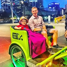 Brothers - Going for an Evening Bike Ride  My 2 boys Tom & Will enjoying a bike ride along Southbank.  Beautiful night for a ride along the river!   Great fun for all.  Take a Green Cabs on Southbank!  Posted by www.platinum-apartments.com.au  #melbourne #southbank #southbankpromenade #australia #bikeride #bikehire #platinumapartments #family #fun #thingsrodomelbourne #greencab