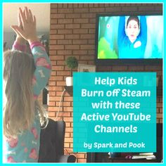 play active videos from these suggested YouTube channels for some no-prep kids activities to help your young kids burn off steam.