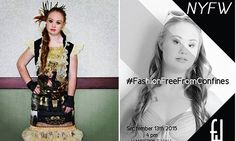 Teen model with Down Syndrome will walk New York Fashion Week