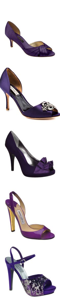 Purple Wedding Shoes, Purple Shoes, Bridesmaid Shoes, Bridesmaids, Evening Shoes, Favorite Color, Choices, Personal Style, Cool Outfits