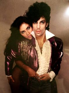Prince and Vanity by Richard Avedon for Rolling Stone magazine, April 28, 1983