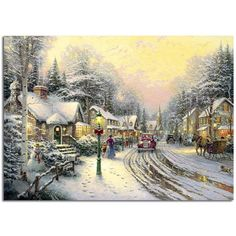 Village Christmas | Thomas Kinkade