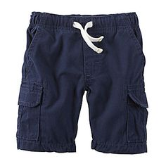 jcp | Carter's® Navy Cargo Shorts - 4t