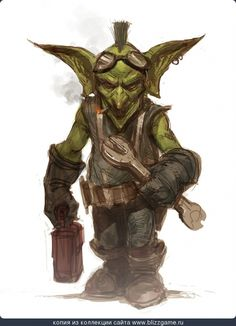 Image result for steampunk goblin