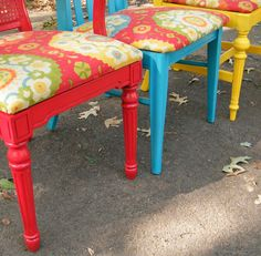 So easy to do... Upcycle dining chair