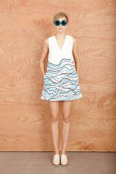 Karen Walker Resort 2014 Collection Slideshow on Style.com