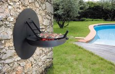 Wall BBQ, by Focus Création.