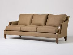 We like this sofa if we end up NOT using the Holly Hunt chairs that look just like it.