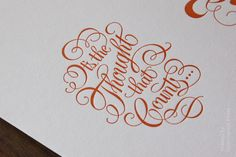Alison Carmichael - letterpress gift tags