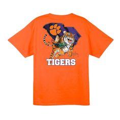 Guy Harvey Exclusive Clemson Tiger T- Shirt
