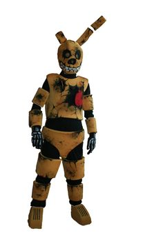 Five nights at Freddy's fnaf Springtrap by oneandonlycostumes