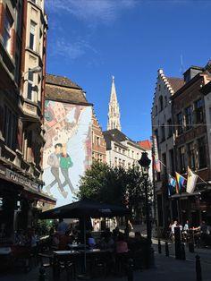 Street art Bruxelles mon été 2016