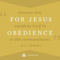 R.C. Sproul   John 14:15