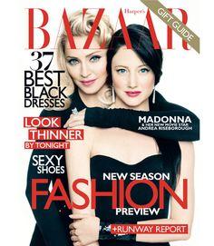 Madonna en Harper's Bazaar
