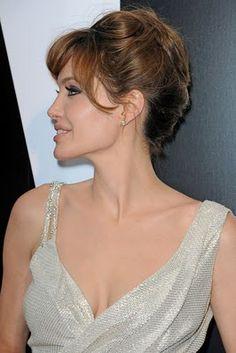 Angelina Jolie Hairstyles - Angelina Jolie Hair - Zimbio