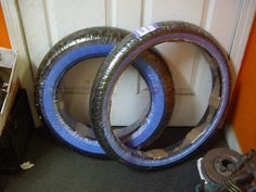 NEW METZELER WIDE WHITE WALL TIRES MH90-21 FRONT AND 130/90-16 REAR HARLEY