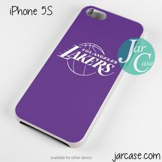 purple lakers Phone case for iPhone 4/4s/5/5c/5s/6/6 plus