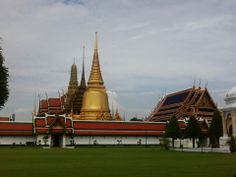 Grand Palace- The ceremonial home of the Thai Royal family, and the location of the majestic Temple of the Emerald Buddha, is an awe-inspiring stop!