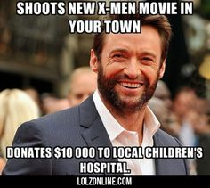 Shoots New X-men Movie In Your Town... #lol #haha #funny