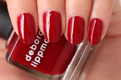 Manicure Monday: Deborah Lippmann Lady Is A Tramp   frmheadtotoe.com