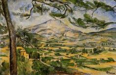 In the Uncommon Whore series, the planet of Neo Domus is loosely based off Mediterranean lands. I visualize a rough, rocky landscape with rich agricultural potential.     http://landsgenre.webs.com/mont-sainte-victoire-%2520Courtauld%2520Galleries,%2520detail.jpg