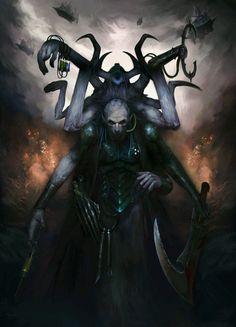 "warhammer-fan-art:  "" Urien Rakarth  https://www.artstation.com/p/vELYd  Diana Martinez  Fantasy Artist & Illustrator  """