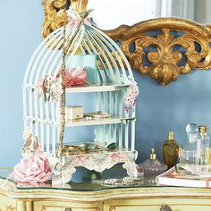 Pastries & Pearls Birdcage Patisserie Stand