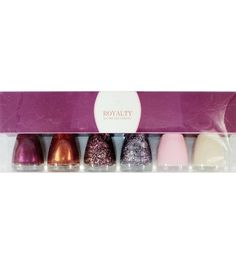 Bonita Nail Polish Collection Royalty 6 Piece - Handbags, Bling & More!