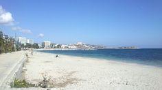 Platja d'en Bossa. Març 2014 Ibiza, Beach, Water, Outdoor, Gripe Water, Outdoors, The Beach, Beaches, Outdoor Games