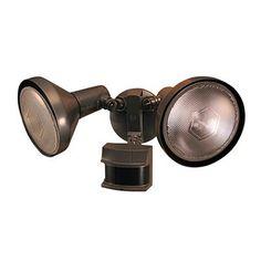Heath-Zenith SL-5318 2 Light Motion Sensing Par Flood Security Light