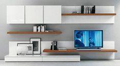 Modern Wall Unit Prijzen – Living Room – Welcome Tv Unit Living Room Tv, Living Room Modern, Home And Living, Living Room Designs, King Furniture, Furniture Design, Muebles Rack Tv, Modern Wall Units, Tv Unit Design