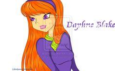 187 best scooby 39 s girl 39 s images scooby doo scoubidou - Daphne scoubidou ...