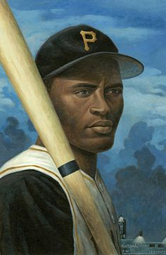 Roberto Clemente by Mike Benny