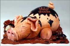 HOW TO MAKE A PIG CAKE