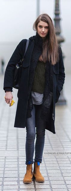 #street #fashion casual fall layers @wachabuy